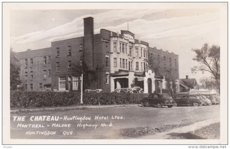 RP: the Chateau Hotel , HUNTINGDON , Quebec , Canada , 30-40s