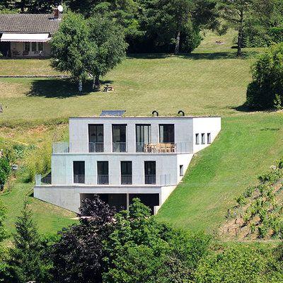 21 best Maison en pente images on Pinterest Homes, Cottage and - jeux de construction de maison en 3d