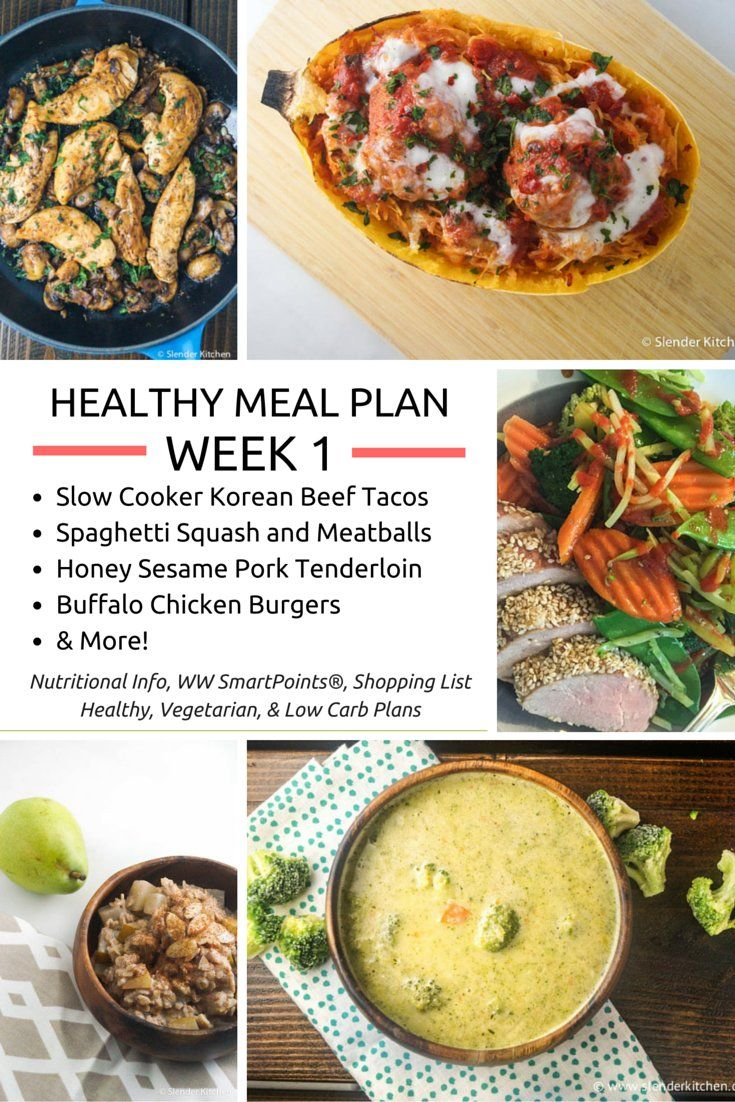 healthy meal plans week 1 start the new year right