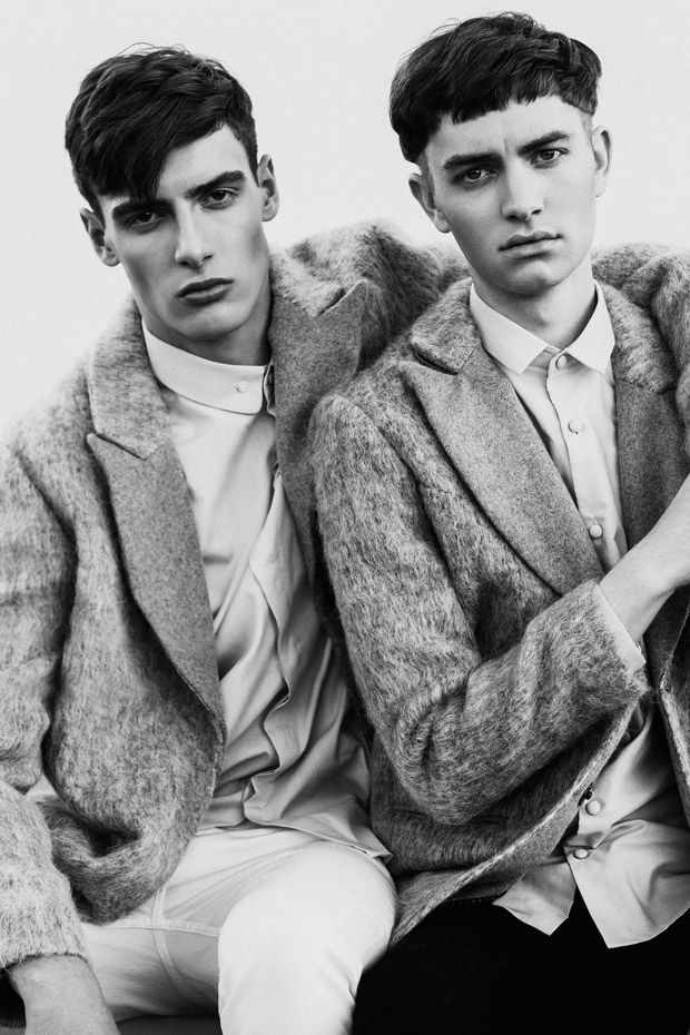 Topman and Topshop Fall / Winter 2014 Collections | I Model Management Model Connor Paterson and Stuart MacLeod | Photographed by Jared Bautista | Style by Ivan Jimenez | Grooming Courtesy of Lyana Gibert | Retouching Nicole Jopek ❤️ November 10, 2014