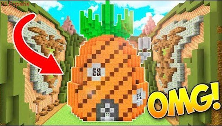 LA CASA DE BOB ESPONJA MÁS BONITA DEL MUNDO!! (Minecraft Build Battle No Premium)