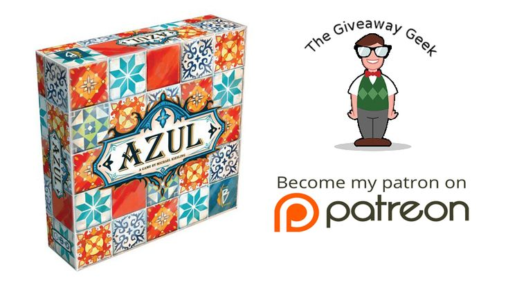 Enter this contest for a chance to WIN a FREE copy of AZUL! #ContestAlert                  https://wn.nr/dHYUD4