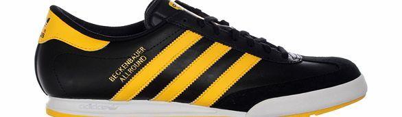 Adidas Beckenbauer Allround Black/Yellow Leather Adidas Beckenbauer Allround Black/Yellow Leather TrainerColourway