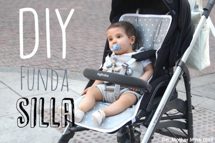 DIY Tutorial y patrones: FUNDA para silla de bebé MUY FÁCIL