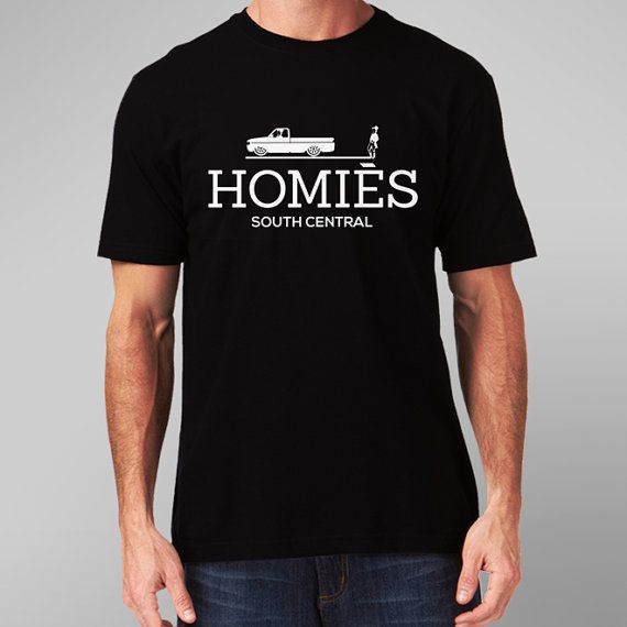 Homies South Central Unisex T Shirt by ukclothesstore on Etsy