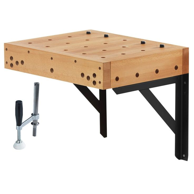 Sjobergs 1.5 ft. Clamping Workbench Table with Holdfast