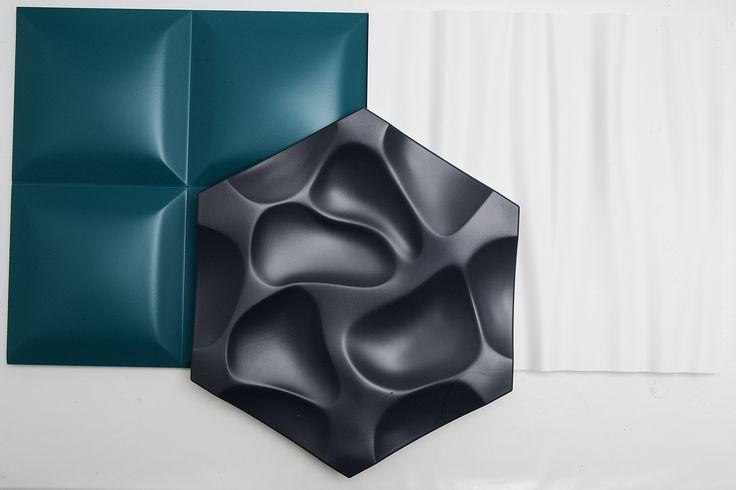 Arstyl wall tiles are made of high-density, yellow, rigid polyurethane foam.