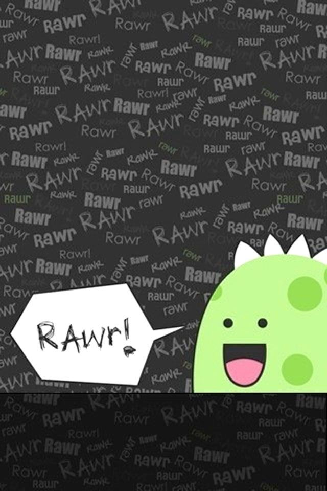 """Rawr means """"I love you in dinosaur"""" #iphone"""