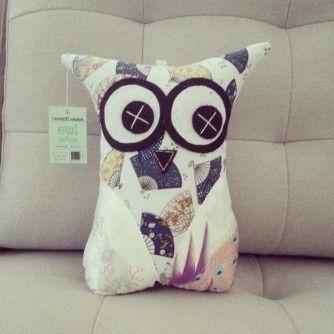 Oriental Owl Softie 30cm - From www.separ8.com/shop