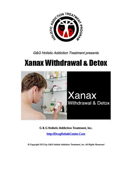 Xanax Withdrawal and Xanax Detox are covered in this Special Report.