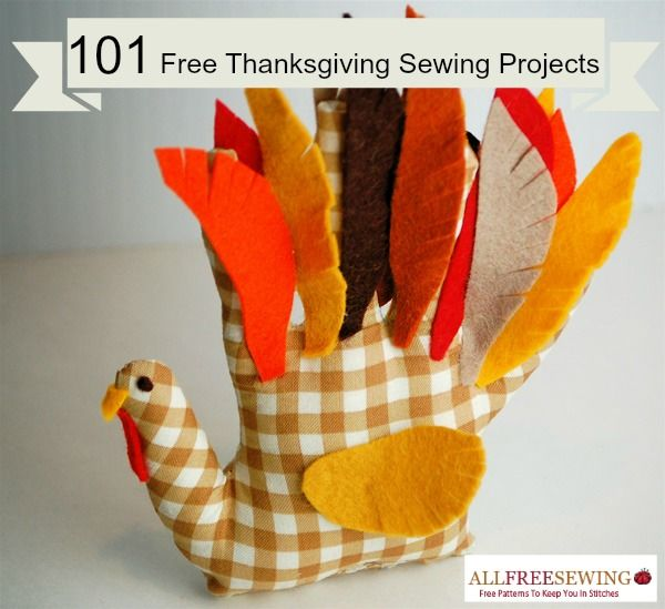 The best images about thanksgiving sewing projects on
