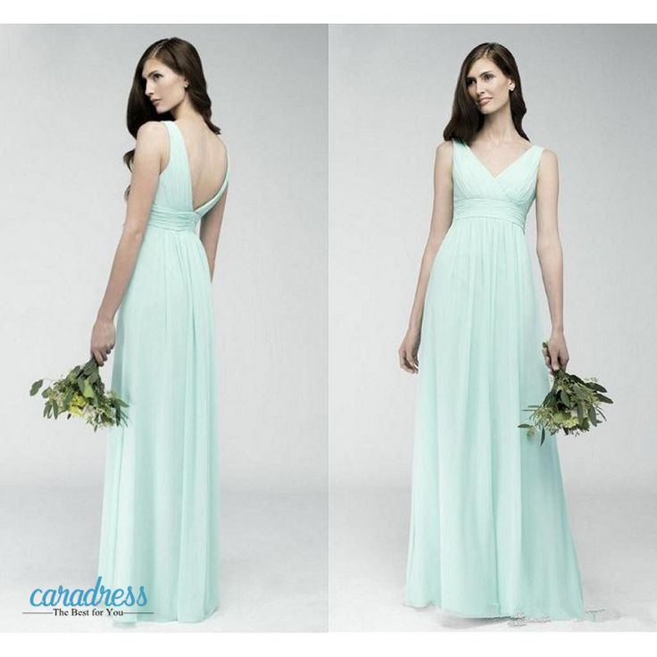Find More Bridesmaid Dresses Information about Elegant Chiffon 2017 Bridesmaid Dresses A Line Empire Open Back Modest Women Formal Party Gowns Mint Green Wedding Guest Dresses,High Quality dress shirt cuff links,China dresse Suppliers, Cheap dress fox from only true love topseller Store on Aliexpress.com