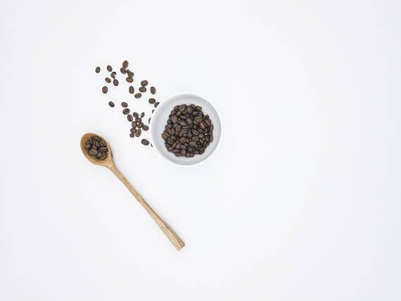 Small Maple Wood Spoon Coffee Measuring Spoon Serving Spoon