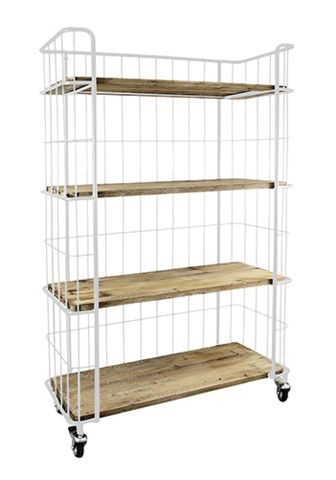 Brooklyn White Shelves - Complete Pad ®