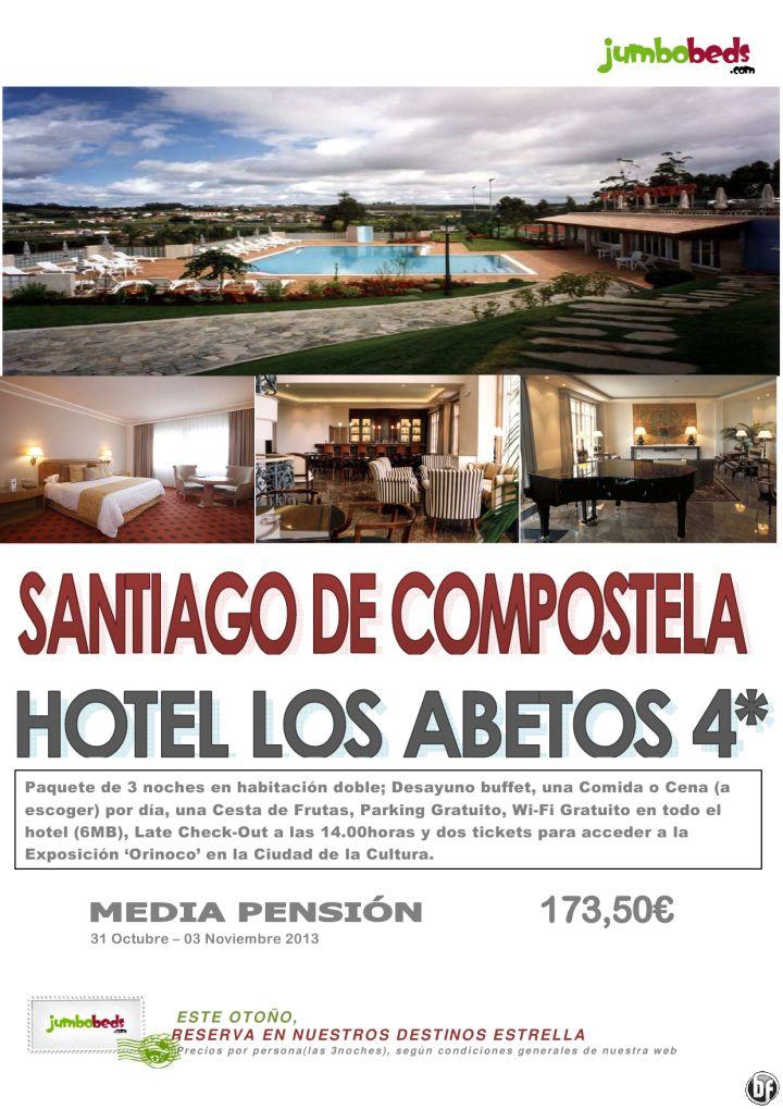 ¡¡¡ Halloween en Compostela - Hotel Los Abetos 4* en MP 173,50€ pax!!! - http://zocotours.com/halloween-en-compostela-hotel-los-abetos-4-en-mp-17350e-pax/
