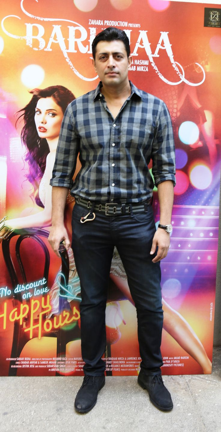 Priyanshu Chatterjee at Barkhaa theatrical trailer launch