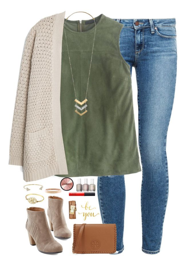 """sometimes you can't explain what you see in a a person. it's just the way they take you to a place that no one else can."" by kaley-ii ❤ liked on Polyvore featuring Paige Denim, J.Crew, MANGO, Madewell, Michael Kors, Tory Burch, Chanel, NARS Cosmetics, Smashbox and women's clothing"