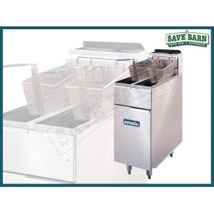 Imperial Tube Fired Natural Gas Fryer 2x 14L #Shoproads #onlineshopping #Deep Fryers