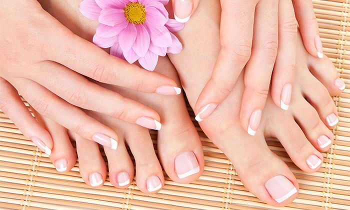 Gel Manicures and Spa Pedicures - Intrigue Salon & Spa   Groupon