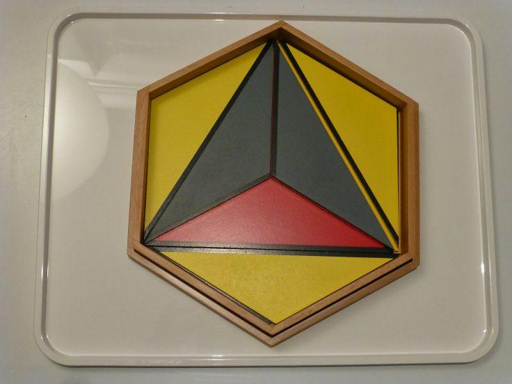 Constructive Triangles - Large Hexagonal Box