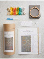 Learn to Embroider a Sampler