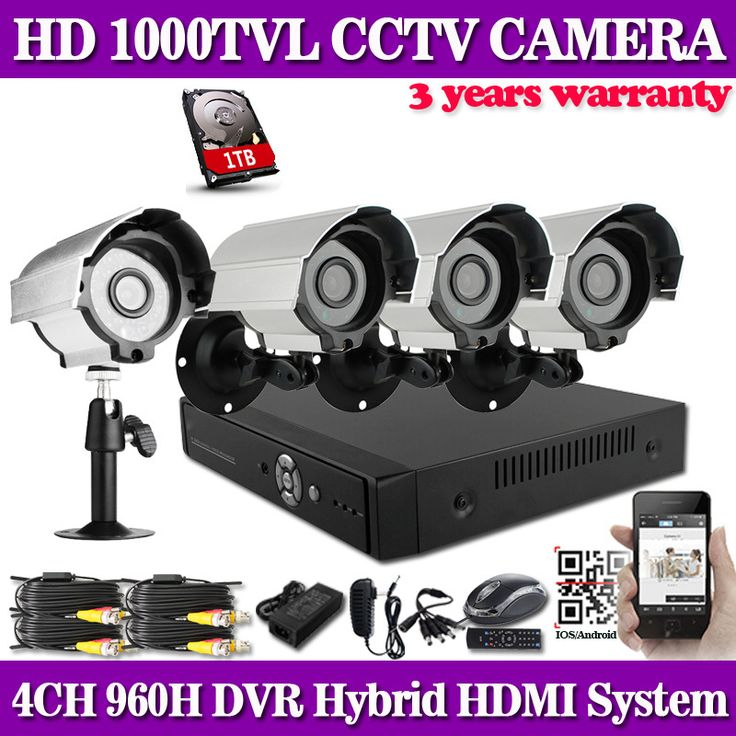 Have you seen this product? Check it out! 1000TVL Surveillance CCTV System 4CH Full 960H HDMI DVR with 960H CMOS IR CCTV Camera Kit with IR Cut Filter 4CH DVR Kit 1TB HDD - US $278.98 http://myapplianceshop.com/products/1000tvl-surveillance-cctv-system-4ch-full-960h-hdmi-dvr-with-960h-cmos-ir-cctv-camera-kit-with-ir-cut-filter-4ch-dvr-kit-1tb-hdd/