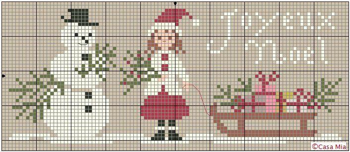Cross Stitch Patterns Christmas