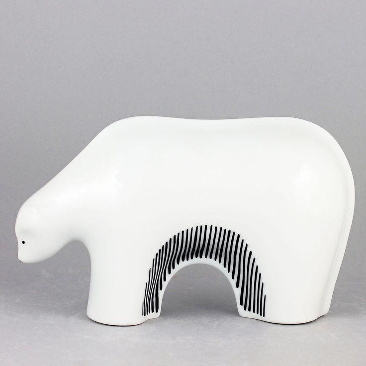 Jackie Lynd (1970s) Modernistic Polar Bear