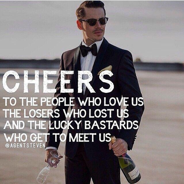 Cheers my friends! °•●☆