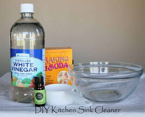 Diy Kitchen Sink Cleaner