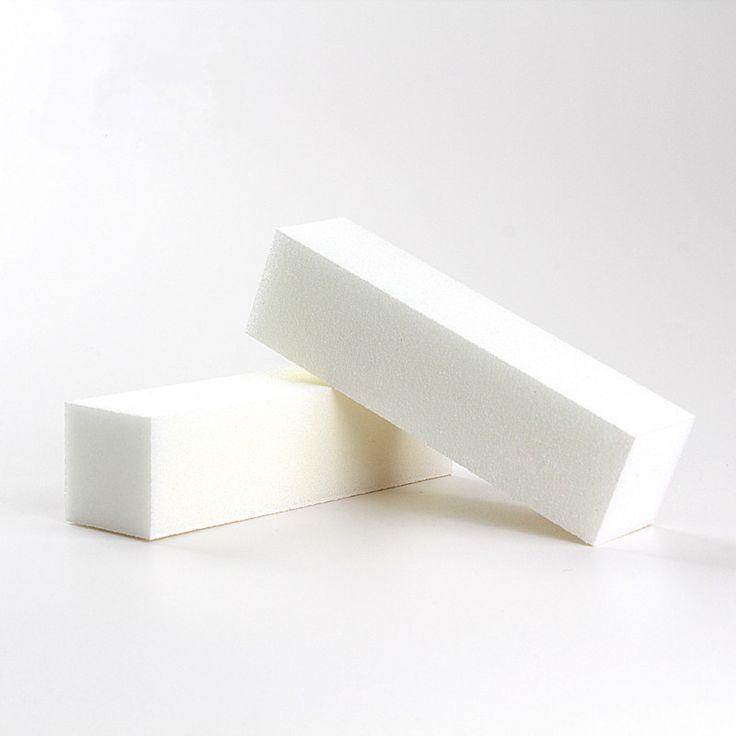 4 Pcs/Lot Nail Art Buffer File Block Pedicure Manicure Buffing Sanding Polish White Makeup Beauty Tools