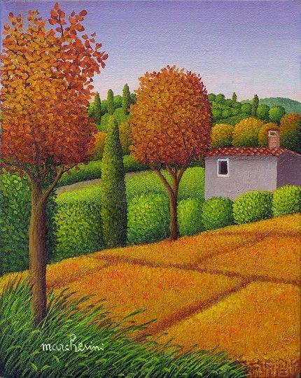Italy ~ Cesare Marchesini ~ Estate in Toscana