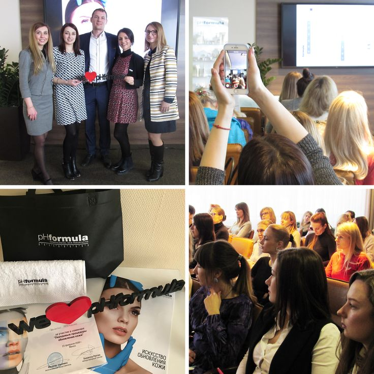 Congratulations to more than 50 pHformula Skin Specialists in Belarus, who successfully completed our Customised Skin Resurfacing workshop with Susanna Porras, pHformula's International Educator and Alexandra Badyl, pHformula, Belarus. #advancedskincare #skinresurfacing #Belarus