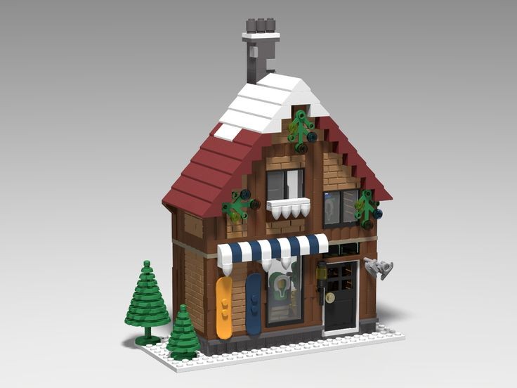 LEGO Ideas - Winter Village Sports Shop