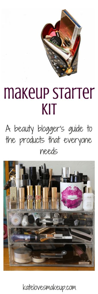 Makeup Starter Kit | Kate Loves Makeup | Beauty blogger shares the makeup products that everyone needs in their collection