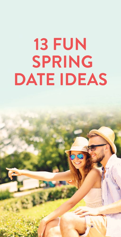 13 fun spring date ideas