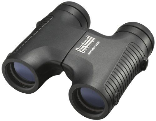 Bushnell 8x32mm PermaFocus - Prismático autoenfoque compacto y prisma recto, negro