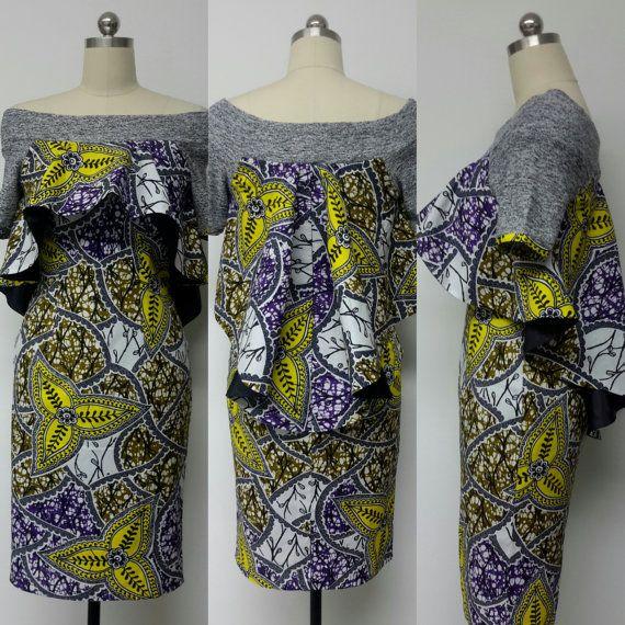 Dit is een ingerichte jurk met Hi-Lo Cape, Off-Shoulder hals, mouwen, terug rits en open gleuf.  OPGENOMEN: • Een jurk Model draagt maat 8. Andere maten verkrijgbaar in andere stoffen  DETAILS: • Afrikaanse Print.  Onderhoudsinstructies: Dry Clean Only.  Bezoek mijn winkel: https://www.etsy.com/shop/NanayahStudio  JURK MATEN * U.S. 2 – buste 33 - taille 24 inch - heupen 34-35 inch * U.S. 4--borstbeeld 34 - taille 25 inch - heupen 36-37 inch * Amerikaanse 6--borstbeeld 35 - taille 26 inch…