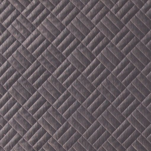Quilted jersey dark grey with PU coating