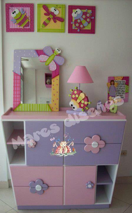 Muebles para niña