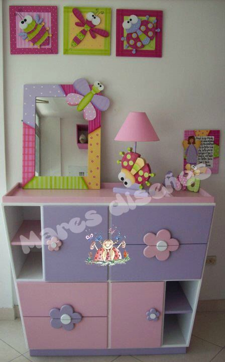 17 best images about infantiles on pinterest patrones for Muebles para habitacion de nina