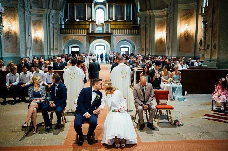 Wedding in Franciscan church