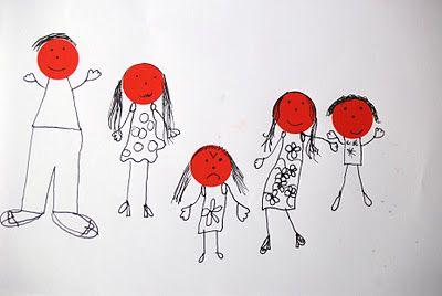 Teken je familie en hun #emoties.