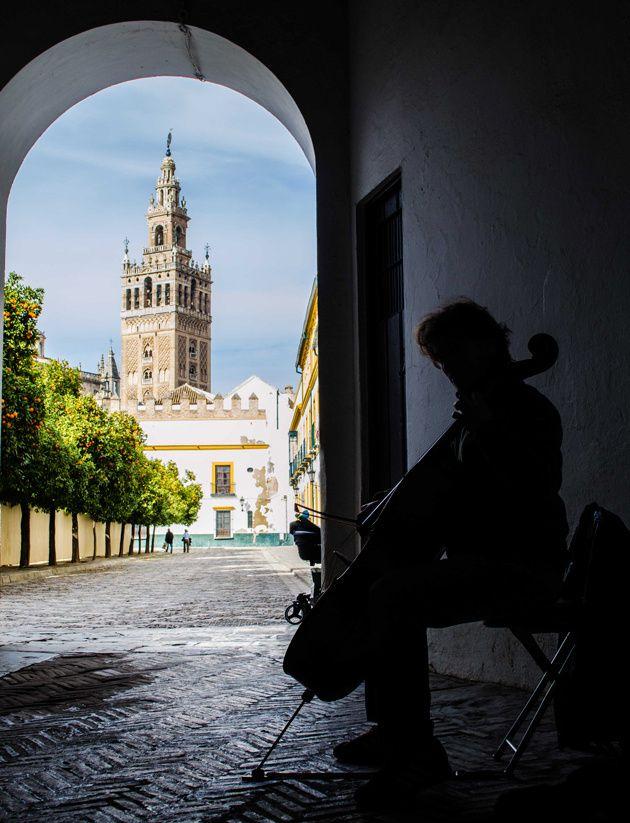 Corners of Seville, Spain