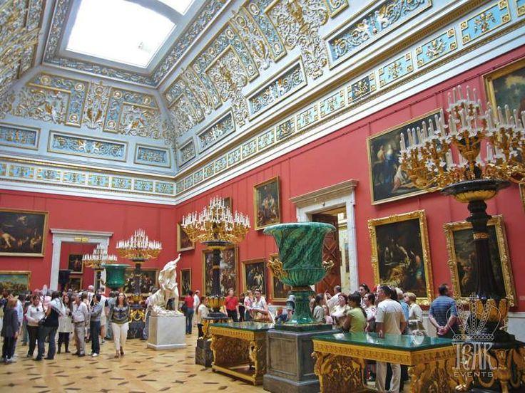 Italian Art Hall, Hermitage Museum, Winter Palace, St. Petersburg