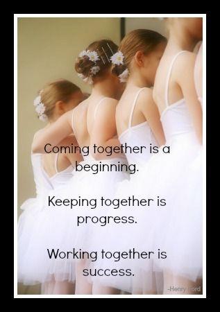 It's a process...