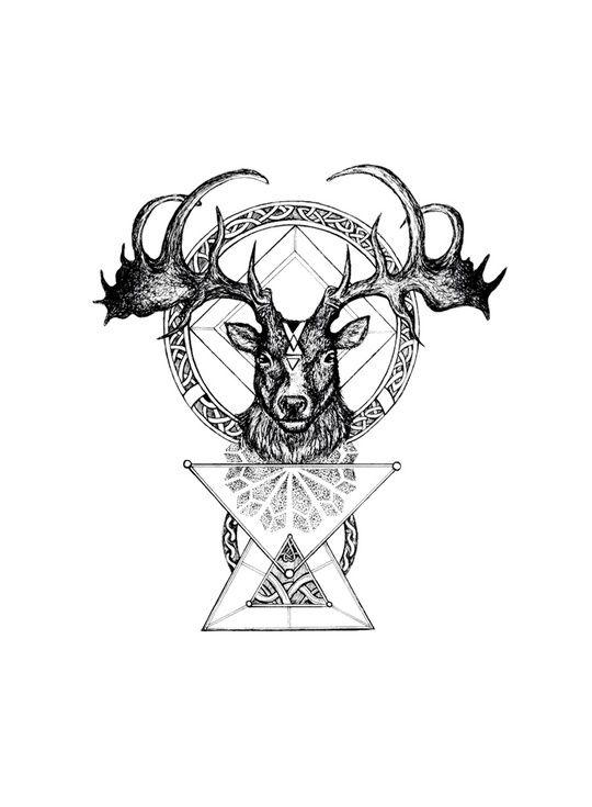 The Irish Elk by Emilie Desaunay
