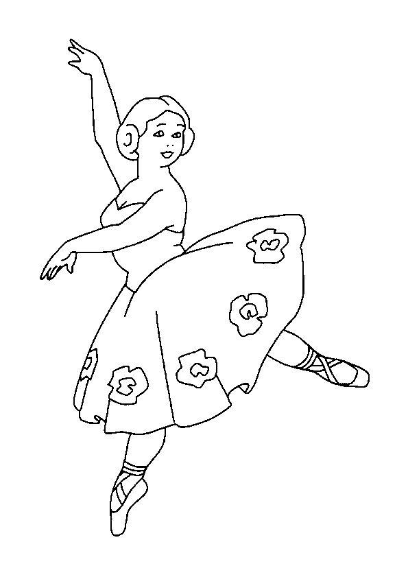 Page 15 Sur 45 Sur Hugolescargot Com Coloriage Danseuse Coloriage Danseuse