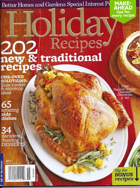 The Iowa Housewife: Cookbook Reviews...Better Homes and Gardens Holida...