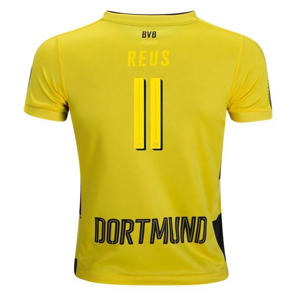 PUMA Marco Reus Borussia Dortmund Youth Home Jersey 17/18